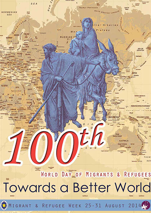 100th World Day Migrant and Refugee Kit 2014