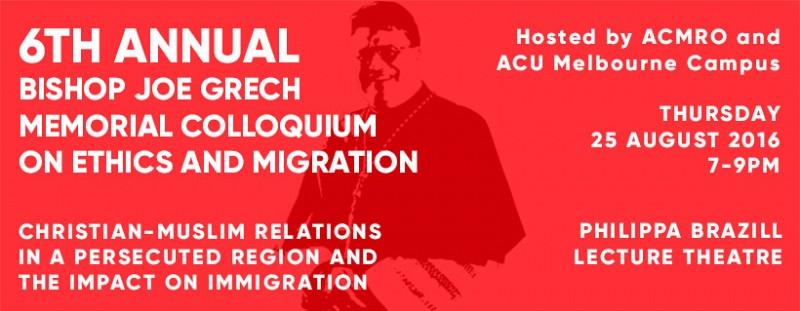Colloquium On Ethics and Migration